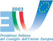 Italian Presidency of the Council of the European Union logo